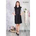 Платье школьное Zemal PL1-025-02 черное р44