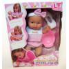 Пупс писающий резиновый Le Petit bebe в розовой одежде Loko Toys - 2