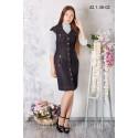 Платье школьное Zemal 42.1.36-02 черное р46