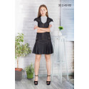 Платье школьное Zemal 32.2.42-02 черное р40