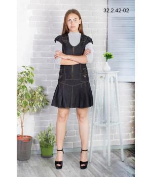 Платье школьное Zemal 32.2.42-02 черное р44 Zemal - 1
