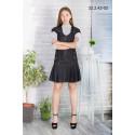 Платье школьное Zemal 32.2.42-02 черное р44