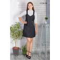 Платье школьное Zemal 12.24-34 темно серое р52