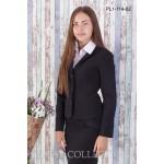 Жакет школьный Zemal PL1-114-02 черный р46