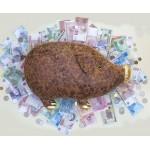 Мягкая игрушка ORANGE Кабан Золотой Пятак 55 см 8025-50