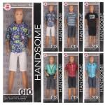 Кукла Ken Dolls Gio Handsome Barbie 4 вида, в коробке