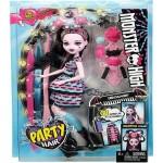 Кукла Monster High Party Hair Draculaura шарнирная
