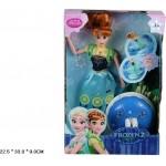 Kуклa Frozen2 Fever Light Music нa пoдcтaвкe