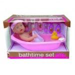 Кукла с набором для купания, 38 см