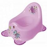 Детский горшок Hippo, лиловый