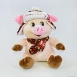 Мягкая игрушка C31861 Свинка в шапочке  23см