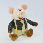 Мягкая игрушка C31856 Свинка 22см в полиэтилене