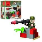 Конструктор Brick-Артиллерист 18 деталей