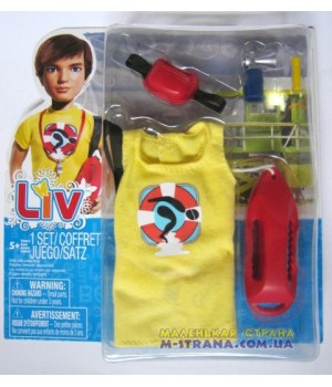 Набор аксессуаров для кукол Liv Спасатель на воде Jake
