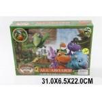 Трек с динозаврами, на  батарейках, в коробке1082