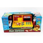 Игрушечный кассовый аппарат PLAY SMART 7162 Мини касса на батарейках музыка с весами