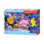 Пазл Castorland Cinderella 30эл B-03747 Золушка