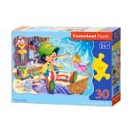 Пазл Castorland Pinocchio 30эл B-03662 Пиноккио