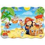 Пазл Castorland 30эл B-03488 Пиратские сокровища