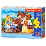 Пазл Castorland Goldilocks and Three Bears 30эл B-03716 Три медведя