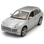 Автомодель Maisto 31113 silver Porsche Cayenne Exclusive Turbo 1:18 серебристый