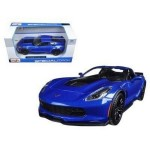 Автомодель Maisto 31133 blue Chevrolet Corvette Z06 2015 синий 1:24