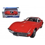 Автомодель Maisto 31202 blue 1970 Chevrolet Corvette синий 1:24