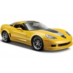 Автомодель Maisto 31203-yellow 2009 Chevrolet Corvette Z06 GT1 жёлтый 1:24