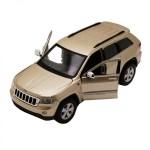 Автомодель Maisto 31205 gold Jeep Grand Cherokee 2011 золотистый 1:24