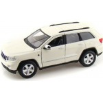Автомодель Maisto 31205 white Jeep Grand Cherokee 2011 белый 1:24