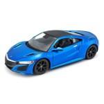 Автомодель Maisto 31234 met. Blue 2017 Acura NSX синий металлик 1:24