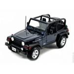 Автомодель Maisto 31245 blue Jeep Wrangler Rubicon синий 1:27