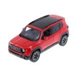 Автомодель Maisto 31282 met. Red Jeep Renegade красный металлик 1:24