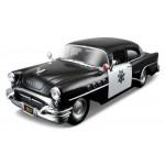 Автомодель Maisto 31295 black 1955 Buick Century чёрный 1:26