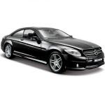Автомодель Maisto 31297 met. Black Mercedes-Benz CL63 AMG чёрный металлик 1:24