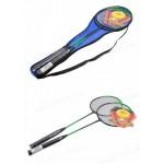 Бадминтон BT-BPS-0057 безшовный 2 ракетки в сумке 2 цвета