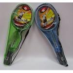 Бадминтон BT-BPS-0060 №2207 2 ракетки в сумке 3 цвета