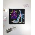 Набір для творчості з паєток 'Попелюшка' 25*25*2 см в кольоровій коробці APT 01-07-Колібрі Art