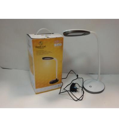 Лампа настільна світлодіодна OASIS GD-504 12 led 6Вт 510 Лм 5500 К білий