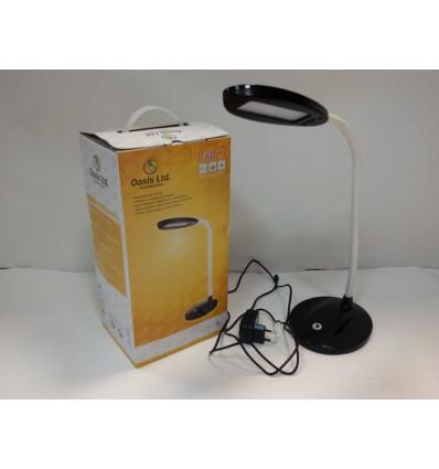 Лампа настільна світлодіодна OASIS GD-504 12 led 6Вт 510 Лм 5500 К чорний