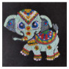 Набір для творчості з паєток 'Слоник Джамбо' 25*25*2 см в кольоровій коробці APT 02-02-Колібрі Art
