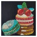 Набір для творчості з паєток 'Смаколики макаронс' 25*25*2 см в кольоровій коробці APT 02-04-Колібрі Art