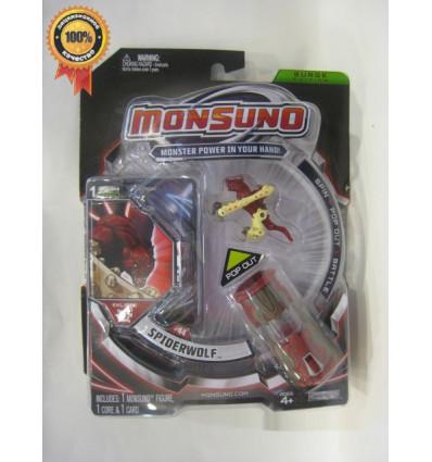 Стартовый набор с фигуркой Spiderwolf (1-Packs) W4 Monsuno - 1