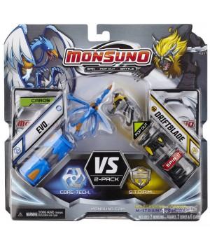 Игровой набор на 2 игрока фигурки Эво (Evo) и Бритва (Driftblade) 2-Pack W1