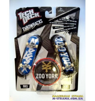 Раритетный и современный фингерборды Teck Deck Throwbacks Zoo York