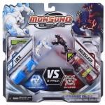 Игровой набор на 2 игрока фигурки Рок (Lock) и Резак (Backslash) (Сombat 2-Pack) W2