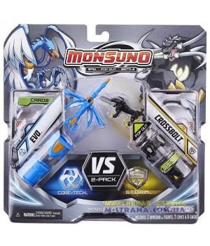 Игровой набор на 2 игрока фигурки Эво (Evo) и Crossbolt (Сombat 2-Pack) W2