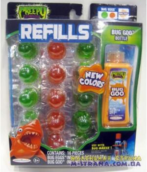Запасной материал для жуков - зеленые красные