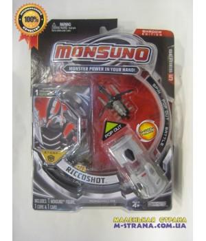 Стартовый набор с фигуркой Риккошот (Riccoshot) (1-Pack) W5 Monsuno - 1